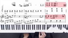 成人学钢琴:热门电视剧《香蜜沉沉烬如霜》,