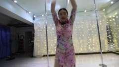钢管舞世界冠军何水清扇子舞