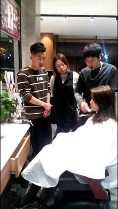 造型师发型师吴健技术分享