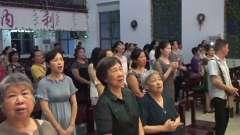 郴州市基督教复兴堂敬拜赞美音乐会