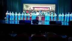 广西柳州鹿寨老年大学葫芦丝一班学员在2019春季