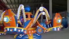 ufo机械类游乐设备飞碟游戏
