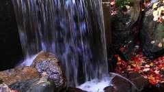 c331震撼大气瀑布高山森林间流水壮美大自然风景