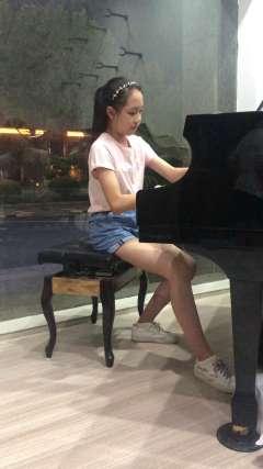 上饶 信州区 天天音乐琴行 选送 钢琴艺术节比赛