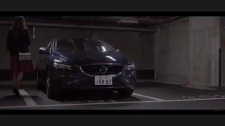 日本美女 拍摄汽车广告