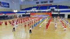 抚州市第一届职工体育运动会开幕式佳木斯操