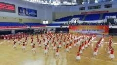 抚州市第一届职工体育运动二八幕式舞蹈祖国你