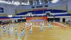 抚州市第一届职工体育运动会开幕式太极拳,太