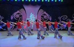 2015最新广场舞十送红军 背面  杨艺春英美女教学