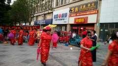 2019-庆祝七一,济南东关街道,公益民俗表演。