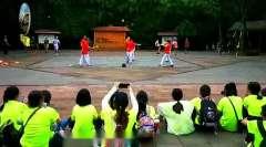 打花棍传统文化民俗体育运动代代传!江西学子