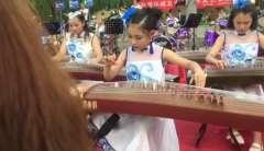 新韵器乐 古筝 渔舟唱晚 杜贵敏等2019植物园音乐