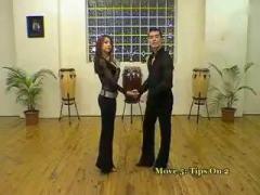 莎莎舞 salsa 合音乐 step by step_标清