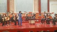 樊金安在天津音乐厅与国乐团合作演唱《贵妃醉