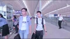 这 才是香港机场该有的样子 当《男儿当自强》音