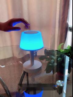无线蓝牙音箱小夜灯创意浪漫七彩音乐灯充电调