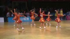 2019年第17届全国青少年体育舞蹈锦标赛业余12岁以