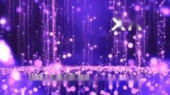 唯美粉色粒子雨告白气球浪漫七夕爱情歌曲音乐