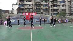 雅安市体育午蹈协会8月8日健身活动表演 (7)