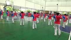 柔力球 光荣与梦想 第十一个全民健身日活动 樟