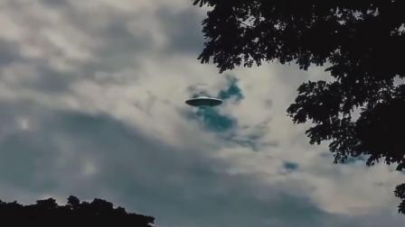 国外UFO目击视频之低空悬停的飞碟