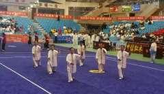 杨式40式太极拳由获团体金牌的童鹤武术健身中心