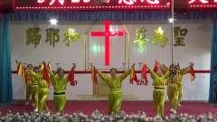 鹤壁市山后教会2019年5月25日赴鹿楼教会赞美相册