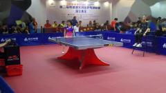 华文体育文化公司(杨妍妍)VS快乐乒乓队(苏明