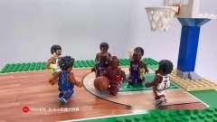 兼容乐高体育系列N*A篮球架篮球框底板国产配件