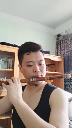 快乐音符音乐中心赵老师竹笛二度创作演奏《好