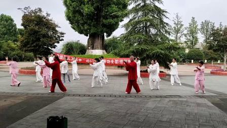 吉安市太极拳协会举办陈式传统83式太极拳培训班