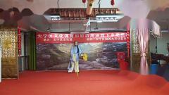 戈汉中《抚青松》天宁区文化体育和旅游局送戏