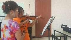 木子音乐小提琴课堂片段分享