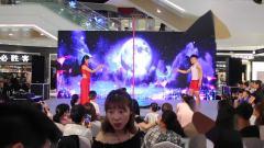 扬州九域舞蹈五周年汇演双人钢管舞《美丽的神