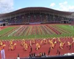 延边州第二十一届体育运动大会 开幕式 文艺表演