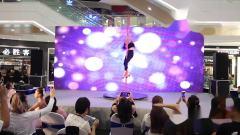扬州九域舞蹈五周年汇演,钢管舞《time》