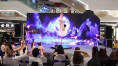 扬州九域舞蹈五周年汇演,双人钢管舞《爱的华