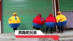卡通人偶服装足球篮球奔跑吧兄弟胖胖道具肥肥