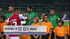 2019/20赛季葡超第2轮 葡萄牙体育2-1布拉加