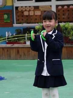 幼儿园跳跳球亲子互动球玩具拉拉球儿童户外体