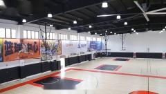 定製 学校体育馆安全防撞垫 篮球馆保护墙垫套