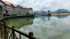 缅甸东城福利来水库187.0881.0610风景美如画