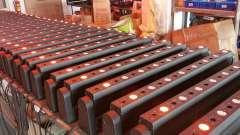 音乐餐吧灯光--64台LED八眼摇头光束激光灯