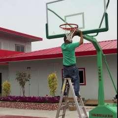 金陵体育11221室外户外移动式篮球架YDJ-2*移动式单