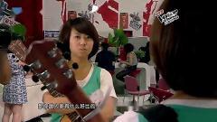 中国好声音:吉他女孩追寻音乐梦,寻求父母认