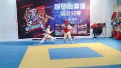 成贤跆拳道队员代言天权体育用品