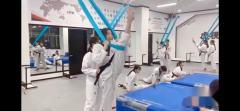 HTS 品势运动员训练剪影~为体育特长生考试升学