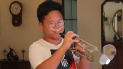 毛佳瑞(13)演奏9级考级音阶#d小调2/5条《中央音