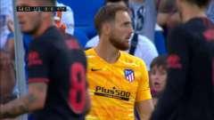 顶盛体育:马德里竞技1-0莱加内斯,比赛54分钟,