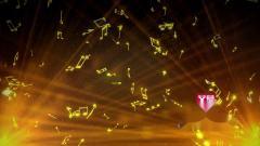 AM22311  金黄光效音符晚会年会演出 动感欢快 音符